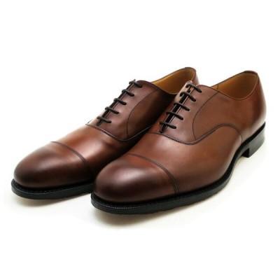 チャーチ 靴 コンサル ウォルナット メンズ ビジネス シューズ Church's Consul ストレートチップ プレーントゥシューズ ネバダレザー Nevada Leather Wa…
