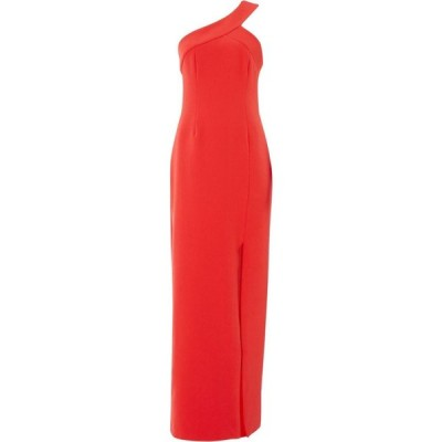 キープセイク Keepsake レディース パーティードレス ワンピース・ドレス One shoulder split front maxi dress Red
