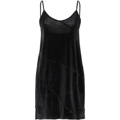 ジジル JIJIL ミニワンピース&ドレス ブラック 40 ポリエステル 94% / ポリウレタン 6% ミニワンピース&ドレス