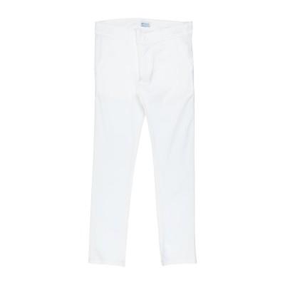 MONDANI JUNIOR パンツ ホワイト 10 コットン 97% / ポリウレタン 3% パンツ