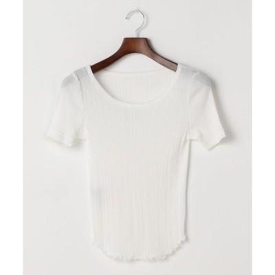 tシャツ Tシャツ martinique/ランダムピッチテレコカットソー