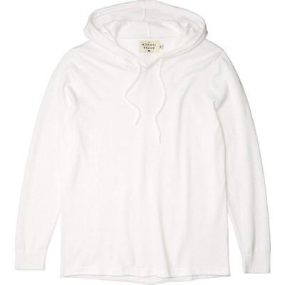 ノーマルブランド The Normal Brand メンズ パーカー トップス Lake Night Hoodie White