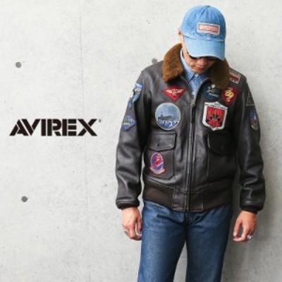 革ジャン メンズ / AVIREX アビレックス 6101063 ゴートスキンレザー G-1 フライトジャケット TOP GUN【Cx】 / ミリタリージャケット レ