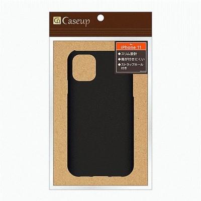 iPhone 11 背面レザーケース facade/ブラック  スマホケース スマートフォン ケース [▲][G]