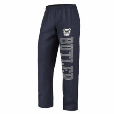 Fanatics Branded ファナティクス ブランド スポーツ用品  Fanatics Branded Butler Bulldogs Navy Sideblocker Fleece Pants
