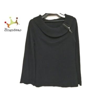 エンポリオアルマーニ EMPORIOARMANI 長袖セーター サイズ38 S レディース 黒 新着 20200526