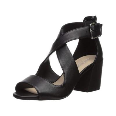 レディース 靴 コンフォートシューズ Kenneth Cole New York Womens Hannon Criss Cross Fabric Peep Toe Ankle Strap C...