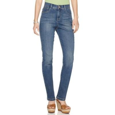 スタイルアンドコー レディース デニムパンツ ボトムス Petite Tummy-Control Slim-Leg Jeans, Petite & Petite Short