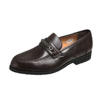 マドラスモデロビータ5650ブラウン メンズシューズビット付Uチップスリッポン 紳士靴 ビジネスシューズ