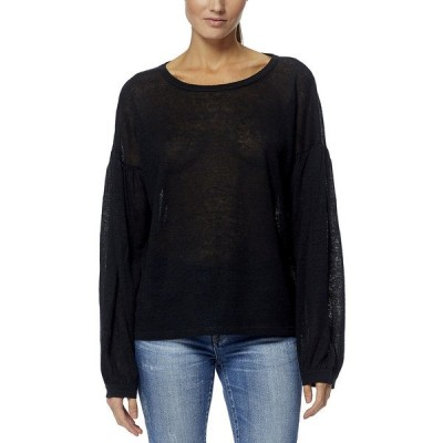 360カシミア ニット&セーター アウター レディース 360 Cashmere Danika Linen Sweater black