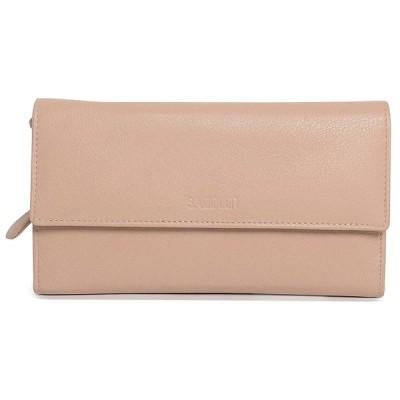 SaddlerレディースReal Leather Large Oversize三つ折り財布ファスナーコイン付き財布 US サイズ: One