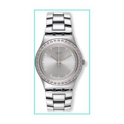 【新品】Swatch Irony Pure Powder Silver Dial Stainless Steel Ladies Watch YLS172G(並行輸入品)