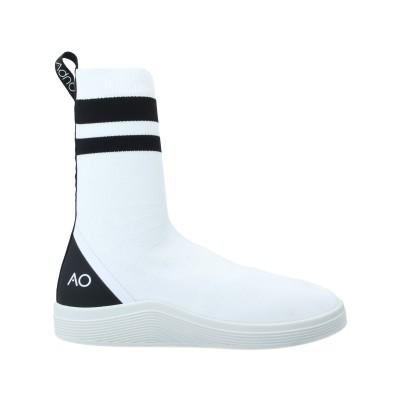 ADNO® スニーカー&テニスシューズ(ハイカット) ホワイト 36 紡績繊維 スニーカー&テニスシューズ(ハイカット)