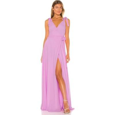 ラヴァーズフレンズ Lovers + Friends レディース パーティードレス ワンピース・ドレス Serena Gown Lilac Purple