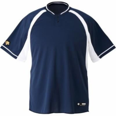 ジユニアベースボールシヤツ デサント(descente) ヤキュウソフトベースボールTシャツ (jdb103b-nvsw)