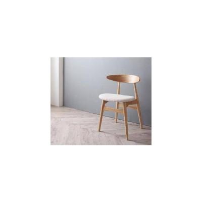 ダイニングチェア 椅子 おしゃれ 北欧 アンティーク ( 1脚 ) 座面高46 ファブリック 完成品 背もたれ クッション コンパクト 小さめ モダン スタイリッシュ
