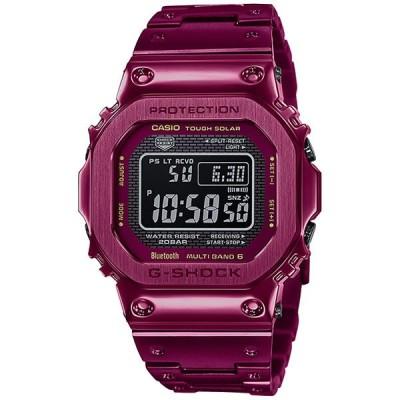 CASIO カシオ 腕時計 海外モデル GMW-B5000RD-4 G-SHOCK Gショック フルメタルシリーズ タフソーラー 電波 メンズ (国内品番 GMW-B5000RD-4JF)