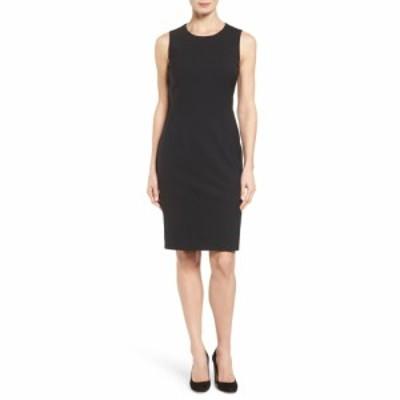 ヒューゴ ボス BOSS レディース ワンピース ワンピース・ドレス Dirusa Tropical Stretch Wool Dress Black
