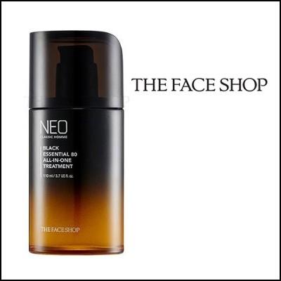 送料無料 [THE FACE SHOP (ザフェイスショップ)]   Neo Classic Homme Black Essential 80 All-In-One Treatment 110ml ★