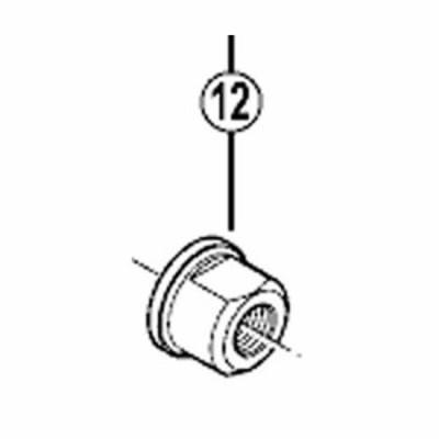 [12]軸ナット(M10)
