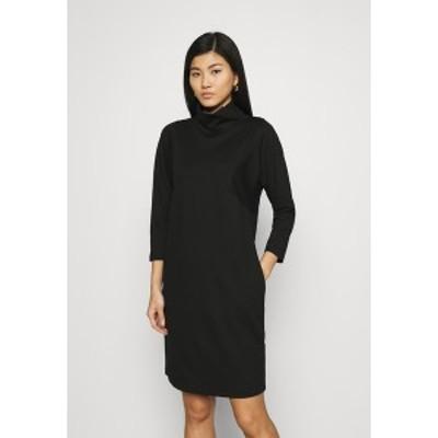 オーパス レディース ワンピース トップス WALINE - Jersey dress - black black