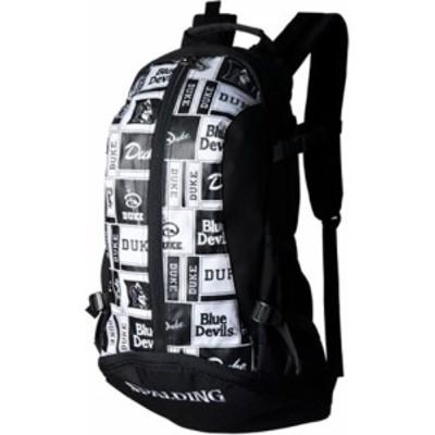 SPALDING(スポルディング) ケイジャー デューク ロゴ ブラック バスケット バッグ 40007DKK