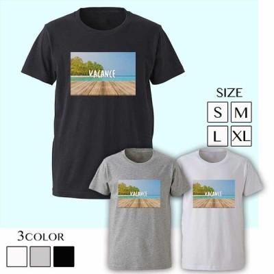 Tシャツ パロディ メンズ ブランド ロゴT ビター系 BITTER 海外セレブ セクシー 半袖 夏 海 ocean
