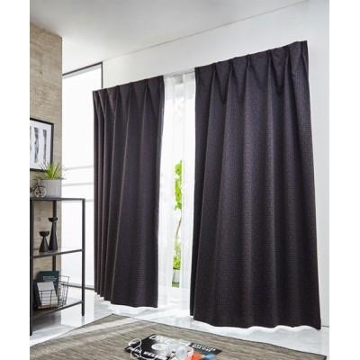 【送料無料!】小さなドット柄。遮熱。防炎。1級遮光カーテン ドレープカーテン(遮光あり・なし) Curtains, blackout curtains, thermal curtains, Drape(ニッセン、nissen)