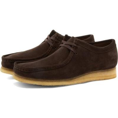 クラークス Clarks Originals メンズ シューズ・靴 wallabee Dark Brown Suede
