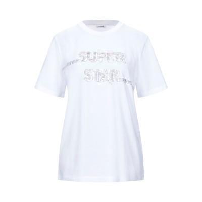 パロッシュ P.A.R.O.S.H. T シャツ ホワイト XL コットン 100% T シャツ