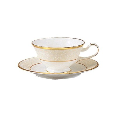 【Noritake(ノリタケ)】(ホワイトパレス) ティー・コーヒー碗皿