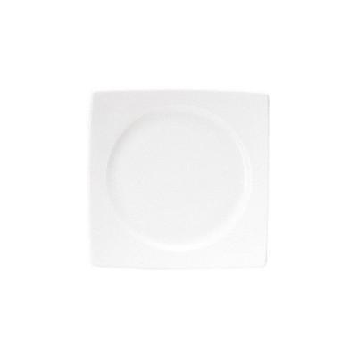 (業務用・正角皿)プラージュ 25.5cmスクエアープレート (入数:5)