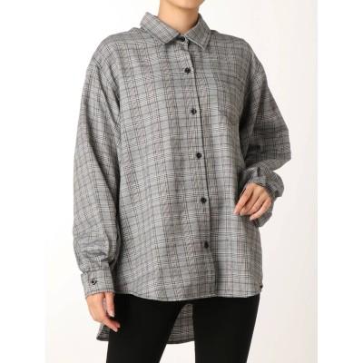 【公式】EVRIS(エヴリス)チェックタックスリーブシャツ