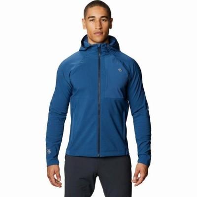 (取寄)マウンテンハードウェア フーデット ジャケット - メンズ Mountain Hardwear Keele Hooded Jacket - Men's Blue Horizon