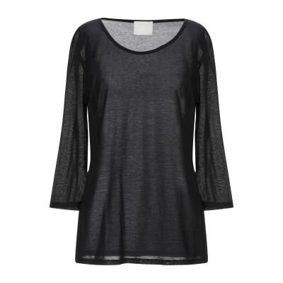 ゴータ GOTHA T シャツ ブラック 2 コットン 65% / シルク 35% T シャツ