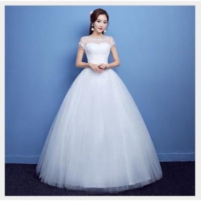 プリンセスドレス パーティードレス ウエディングドレス ロングドレス ステージ衣装 二次会 演奏会 発表会 成人式 結婚式ドレス 披露宴 謝恩会 人気定番