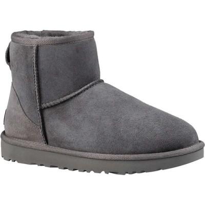 アグ Ugg レディース ブーツ シューズ・靴 classic mini ii boot Grey