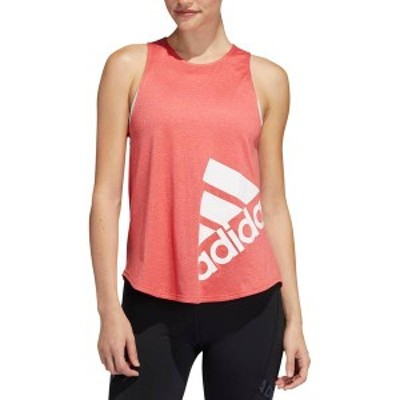 アディダス レディース シャツ トップス adidas Women's Disrupt Tank Top Glory Red/White