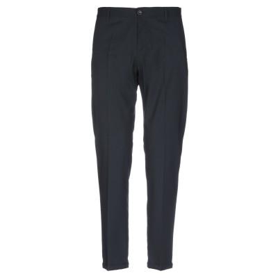 OFFICINA 36 パンツ ブラック 50 ポリエステル 73% / バージンウール 25% / ポリウレタン 2% パンツ