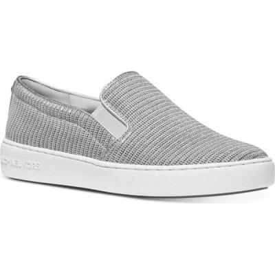 マイケル コース Michael Kors レディース スリッポン・フラット シューズ・靴 Keaton Slip-On Logo Sneakers Khaki
