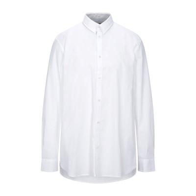 ゲス GUESS シャツ ホワイト S コットン 75% / ナイロン 22% / ポリウレタン 3% シャツ