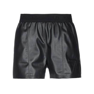 カールラガーフェルド KARL LAGERFELD ショートパンツ ブラック 40 ポリウレタン 100% / ポリエステル ショートパンツ