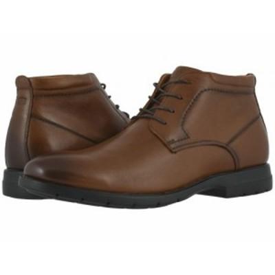 Florsheim フローシャイム メンズ 男性用 シューズ 靴 ブーツ チャッカブーツ Westside Plain Toe Chukka Boot Cognac【送料無料】