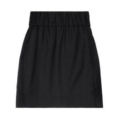 ヌメロ ヴェントゥーノ N°21 ミニスカート ブラック 42 モヘヤ 60% / バージンウール 40% ミニスカート
