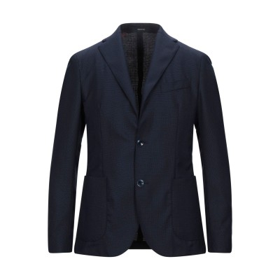 ROYAL ROW テーラードジャケット ダークブルー 46 ウール 100% テーラードジャケット