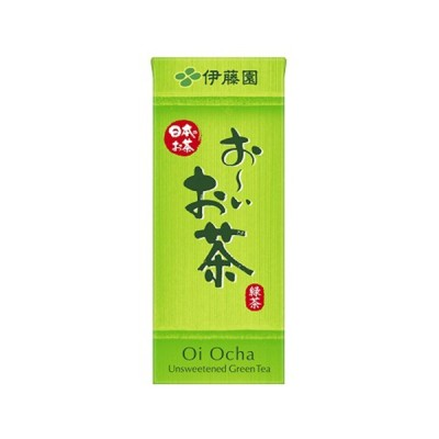 伊藤園 お〜いお茶 緑茶 紙パック 250ml ×24個