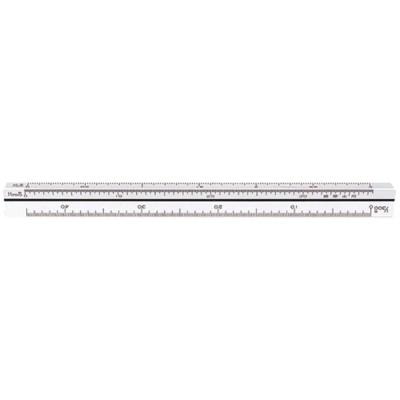 シンワ測定 三角スケール B-15 15cm 建築士用 【品番:74961】