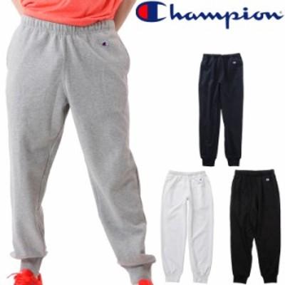 スウェットパンツ メンズ/チャンピオン champion 自宅トレーニングウェア 男性用 スエット フィットネス ジム ロングパンツ 無地 ロゴ カ