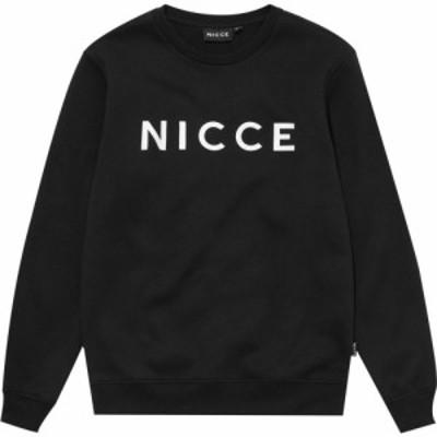 ニッチェ ロンドン Nicce メンズ スウェット・トレーナー トップス Logo Crew Sweatshirt Black