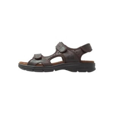 パナマ ジャック メンズ サンダル シューズ SALTON BASIC  - Walking sandals - brown brown